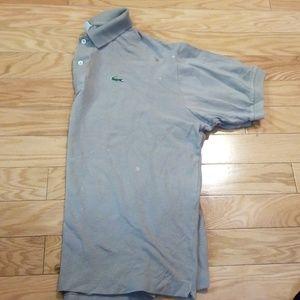 Lacoste - Tan Polo Shirt sz 7